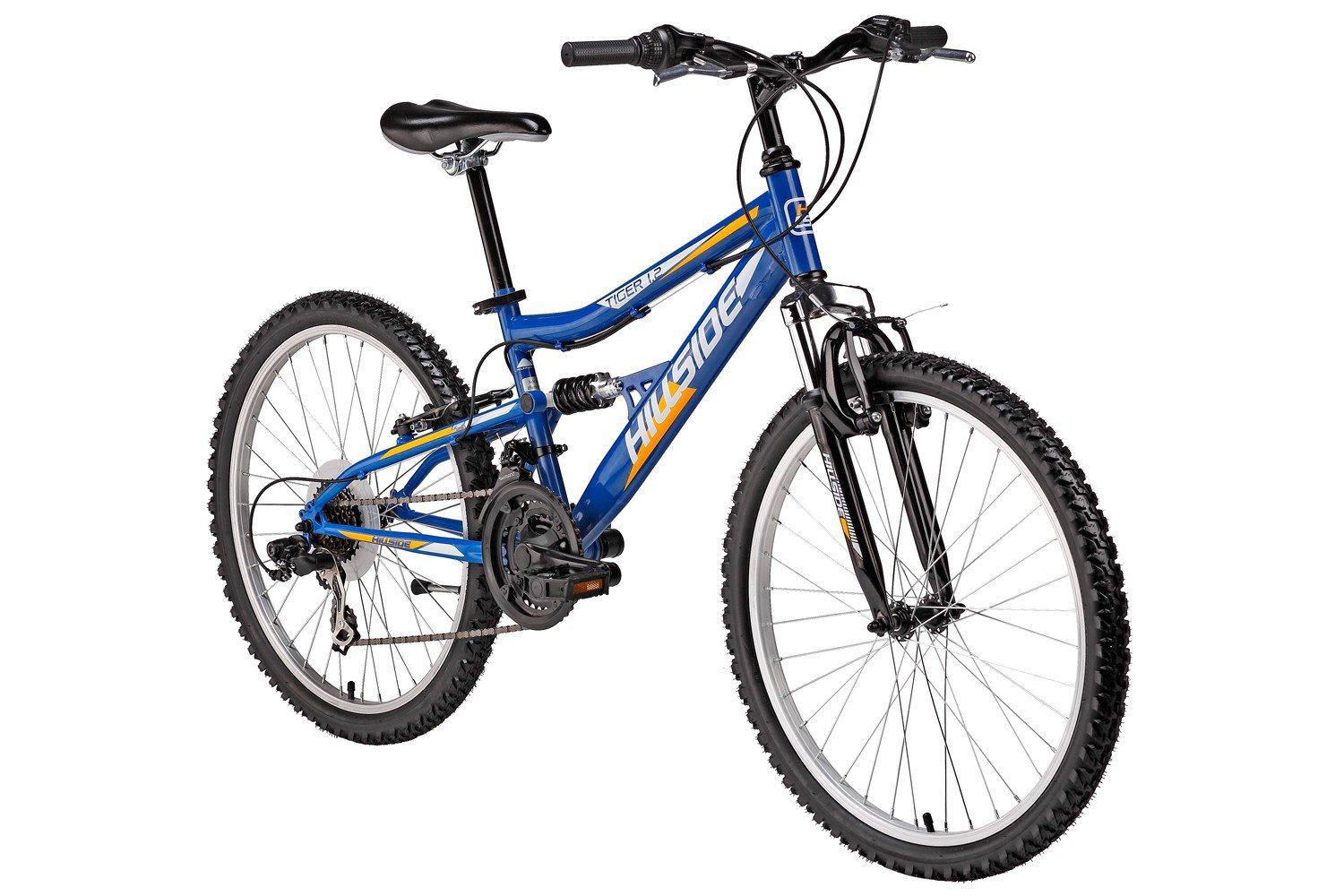 Hillside Vollgefedertes Kinderfahrrad Fully 24\'\' Mountainbike mit 21 ...
