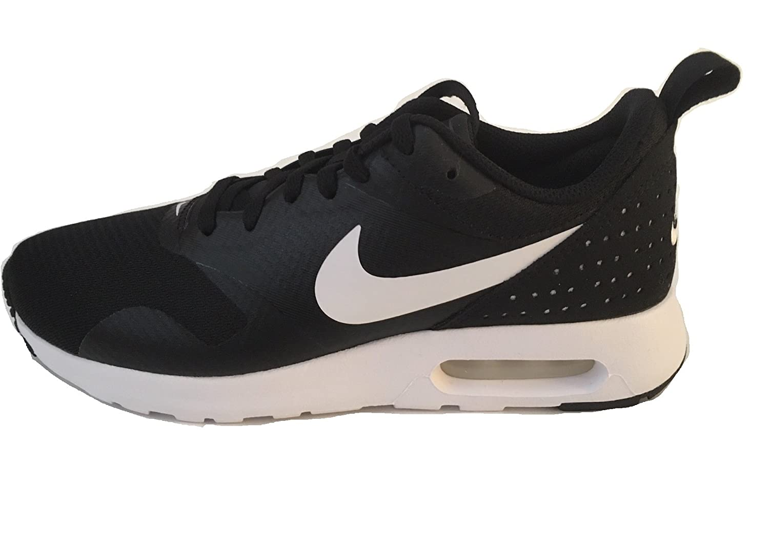 sale retailer 9c6a4 e8b6e Amazon.com   Nike Women s Air Max Tavas Running Shoes Black White 916791  001 (7.5 B(M) US)   Road Running