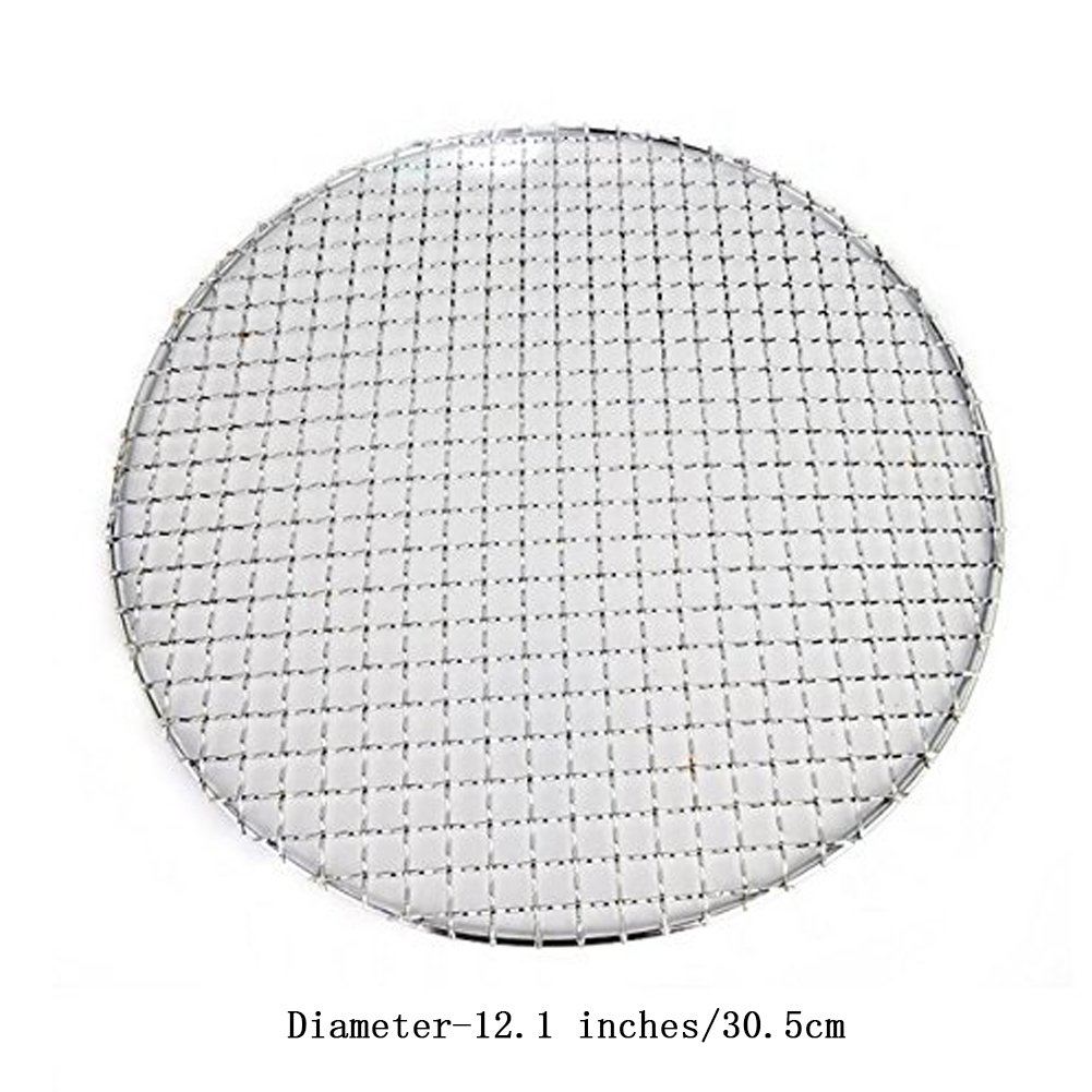 Wire Round Cooling Rack Cookie Cake Grill BBQ Baking Net  Stainless Steel