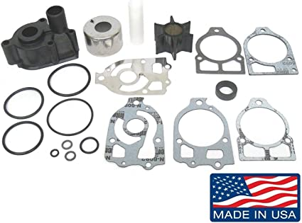 NEW WATER PUMP KIT FOR MERCURY OUTBOARD 75-225HP SIERRA 18-3517 REPLACES 96148A8