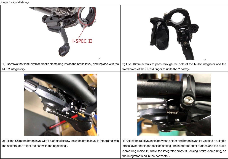 Sunlite Pyramid Tech Seven Locking Bicycle Brake Lever Set