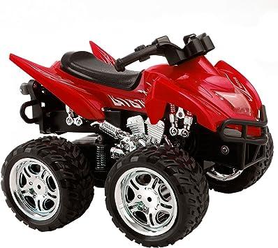 FDS Goplus 4D ATV RC Motorrad Ferngesteuertes Motorrad Racing Bike Kinder Spielzeug Fernbedienung Motorcycle Rennmaschine Blau
