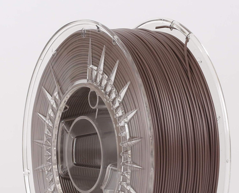 1 kg Chocolade Shine Filamento 3D PLA 1 kg 1,75 mm PrintWith Smile 19
