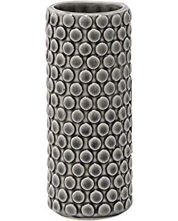 Bloomingville Vase Bubble Structure Grey