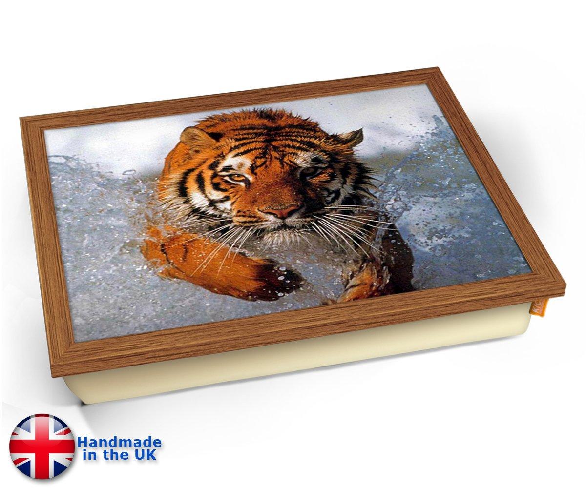 Amazon.com: KICO tigre siberiano Animal en agua cojín ...