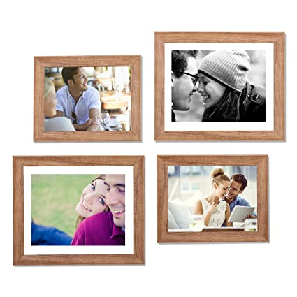 105df5960036 Buy Art Street - Set of 4 Individual Brown Wall Photo Frames Wall Hanging  (2 Units 6X8