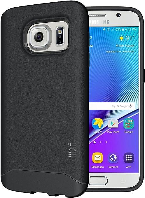 TUDIA Samsung Galaxy S7 Funda, Ultra Delgado Mate Completa Arch TPU Caso de Parachoques de protección Funda Carcasas para Samsung Galaxy S7 (Negro): Amazon.es: Hogar