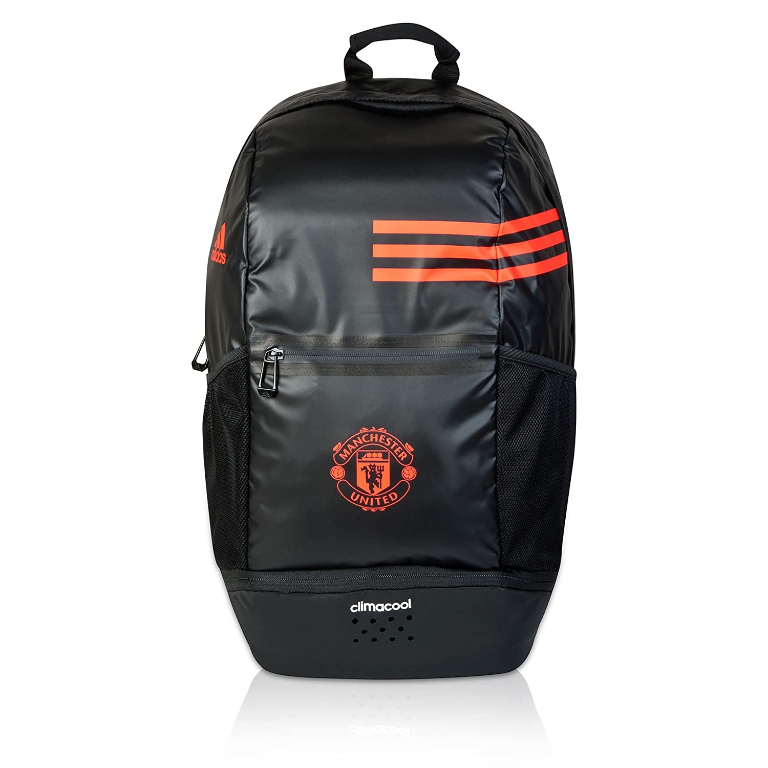 0ebbfec552 adidas Unisex Manchester United Clima Back Pack Club Artwork Accessory Black   Amazon.co.uk  Sports   Outdoors