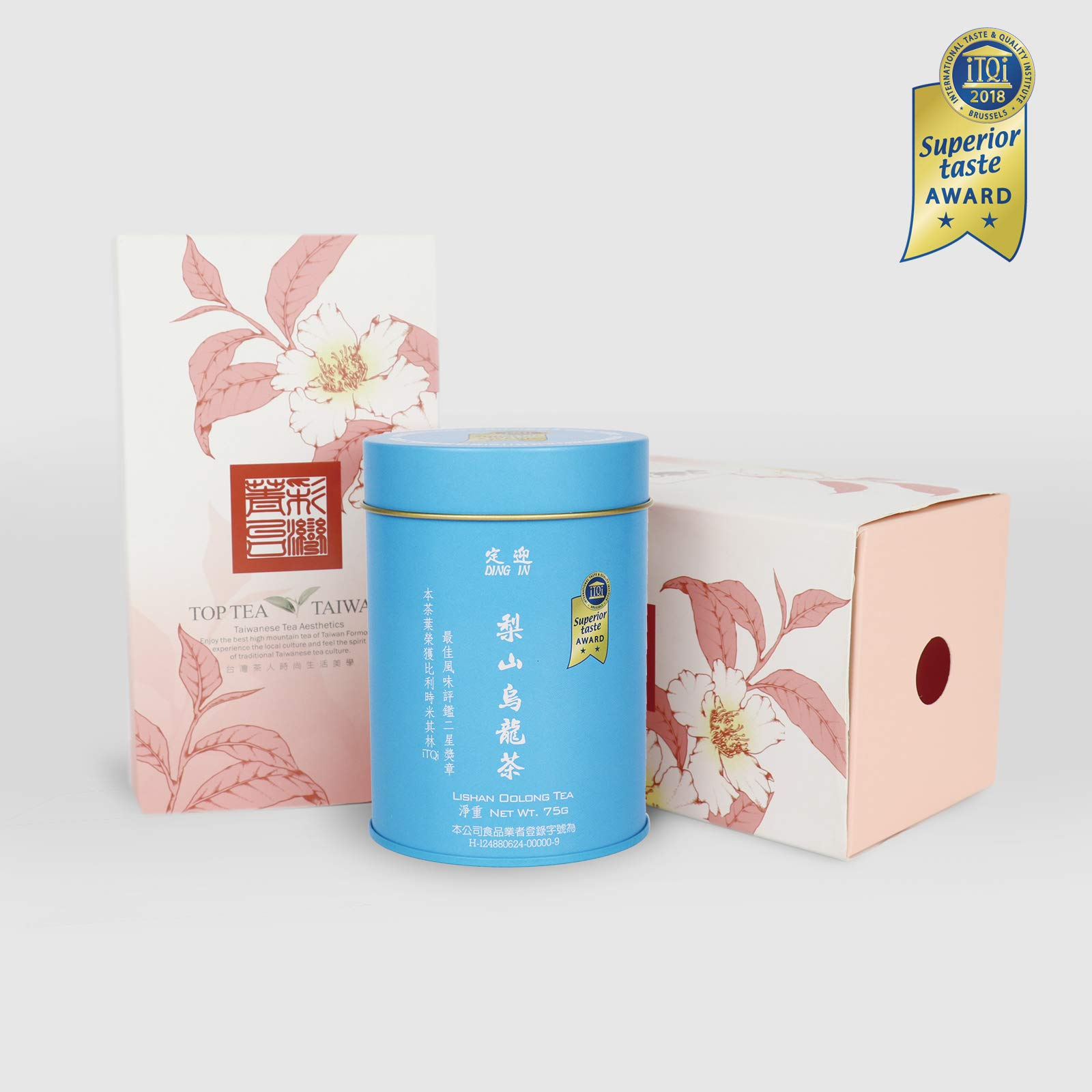 DING IN Lisan Oolong Tea Drawer Type Carton 75g/can by Ding In ltd. (Image #1)