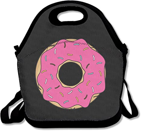 PINK DONUT LUNCH BAG NEW!