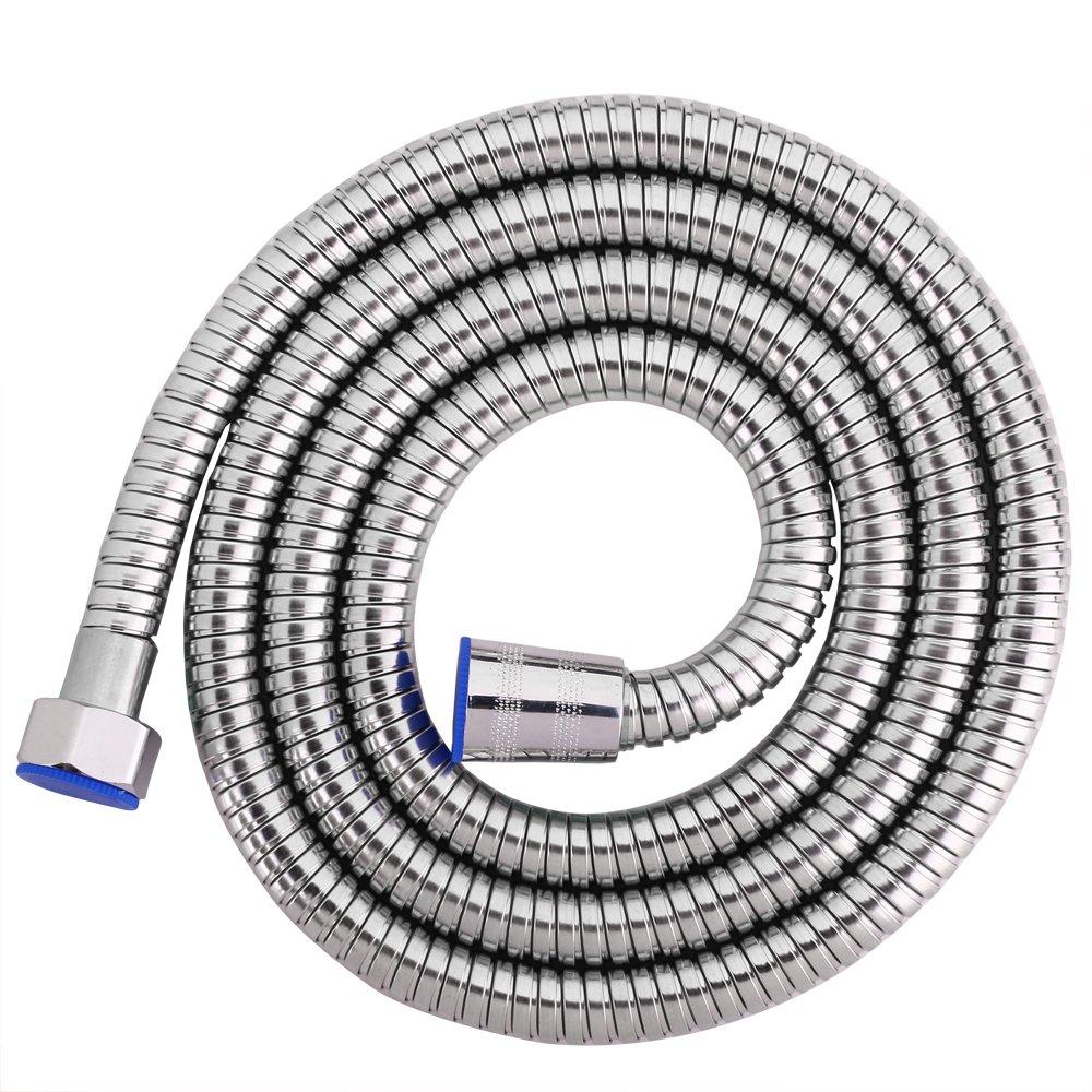 Dey shower fittings stainless steel 59 inch long shower head hose bathroom water heater pipe explosion-proof shower hose hand held shower head hose replacement shower sprayer hose shower sprayer hose