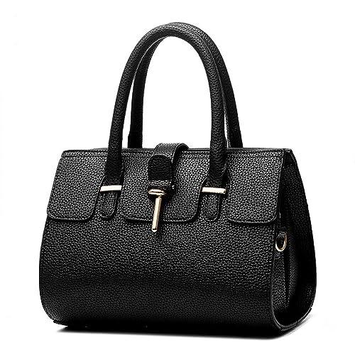 XIN BARLEY Simple Fashion Women Ladies Handbag Cross-Body Shoulder Bag Female  Handbag Bag Black  Handbags  Amazon.com a470511d28