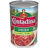 Contadina Tomates en Trocitos Estilo Italiano, 411 g