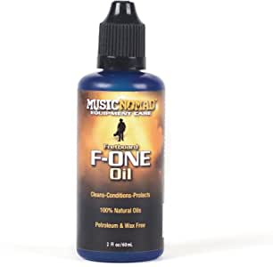 MusicNomad F-One Fretboard Oil Cleaner & Conditioner 2 oz (MN105)