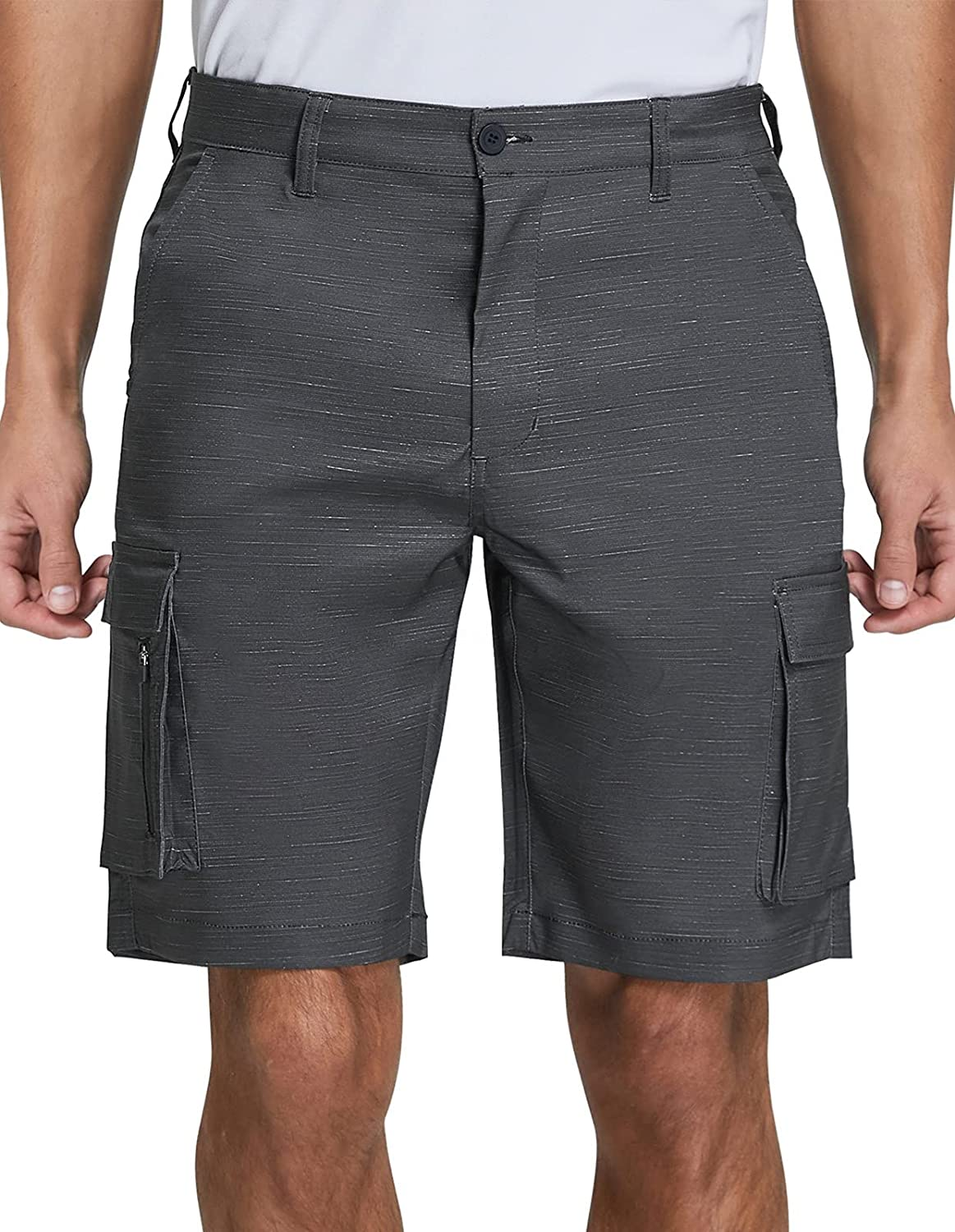 SPECIALMAGIC Men's Hybrid Cargo Shorts Relaxed Fit Lightweight Stretch Quick Dry Summer Board Hiking Golf |