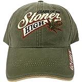 76741f62f4e Class of 420 Stoner High Marijuana Leaf Baseball Cap Hat Weed MJ Ganja  Earthy