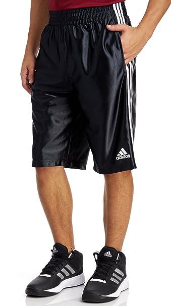 Buy adidas Men's Basketball Basic 4 Shorts, BlackWhite, 4X