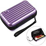 CHARYEAH Waterproof Makeup Beauty Handy Bag Travel Cosmetic Case Brush Organizer Pouch Toiletry Kit Women Girls Storage Multifuncition Carry Bags Holder with Zipper