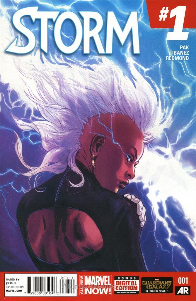 Storm (3rd Series) #1 VF/NM ; Marvel comic book