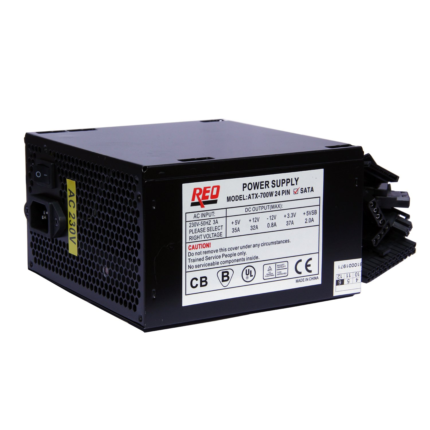 amazon in buy reo 700 watt smps with 5 sata total output power rh amazon in