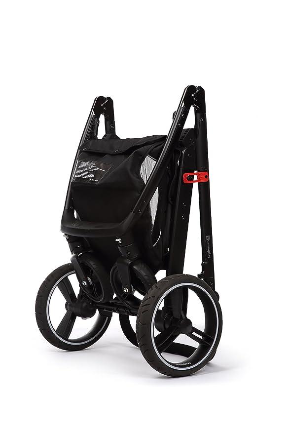 Casualplay Match 2 Loop - Silla de paseo con chasis negro + Sono, color ice
