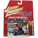 Johnny Lightning Classic Plastic Surf Rod By Barris 1:64 Scale Diecast Replica