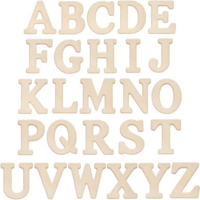 The Best Wood Alphabet For Wall Decor