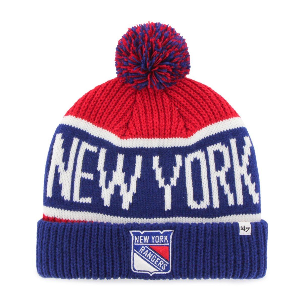 '47 Brand New York Rangers Wraparound NHL Wintermütze