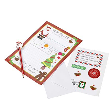 Neviti christmas craft letter to santa kit multi colour amazon neviti christmas craft letter to santa kit multi colour spiritdancerdesigns