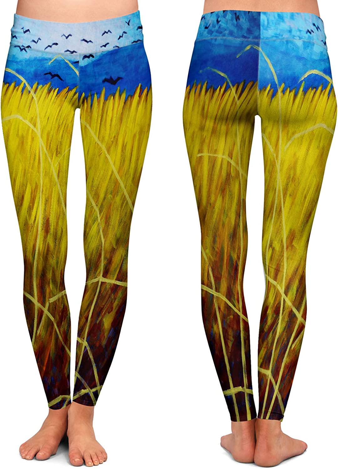 Athletic Yoga Leggings from DiaNoche Designs by John Nolan Vincent