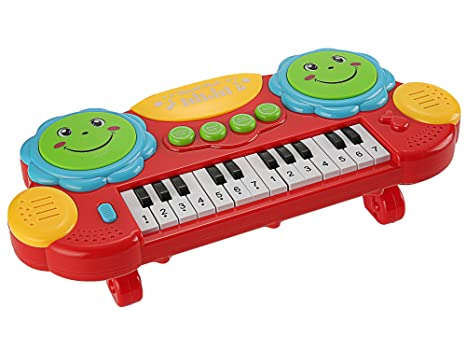 Musical Toys For 1 Year Olds : Excoup baby drums musical toys piano gifts toys for 1 2 3 years old