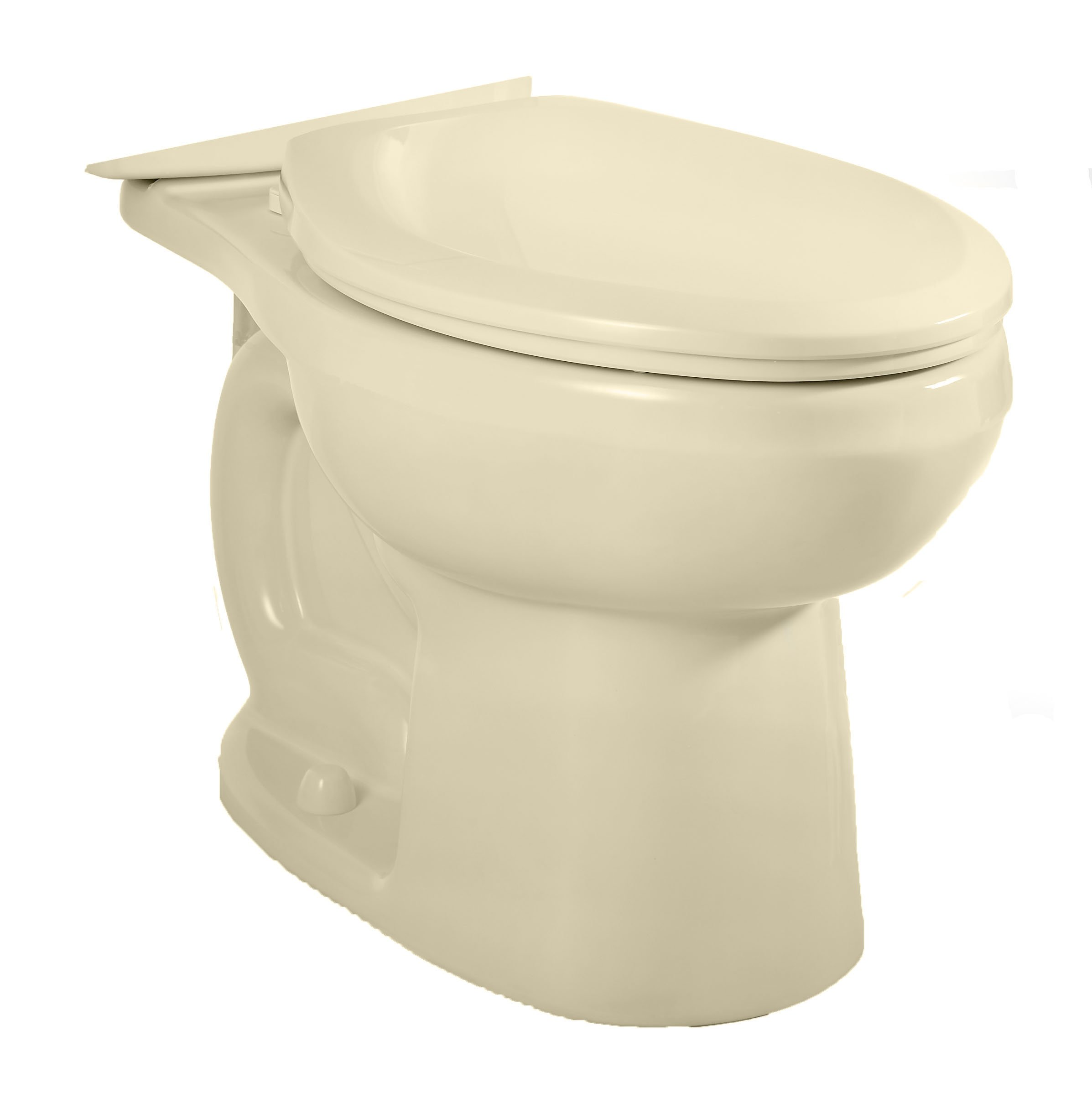 American Standard 3706.216.021 H2Option Siphonic Dual Flush Elongated Toilet Bowl, Bone (Bowl Only)