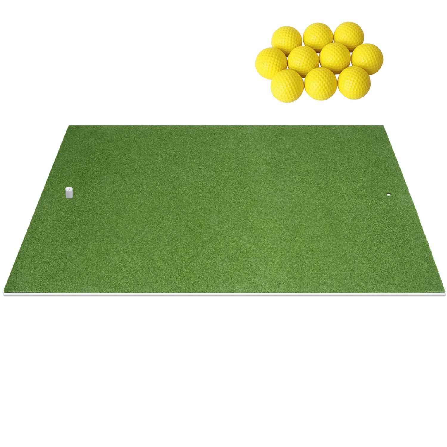 SkyLife Golf Practice Mat Driving Chipping Putting Hitting Turf Training Equipment for Backyard Home Garage Outdoor Use (4' x 5') by SkyLife