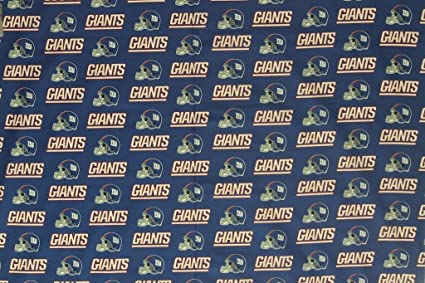 Image Unavailable. Image not available for. Color  New York Giants Football  Royal Sheeting Fabric ... 1e763d6e2