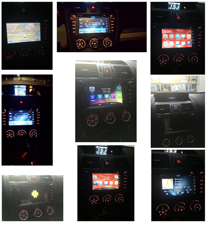 14 - 18 Subaru Forester in-dash GPS navegación estéreo DVD reproductor de CD Bluetooth Receptor AV 7