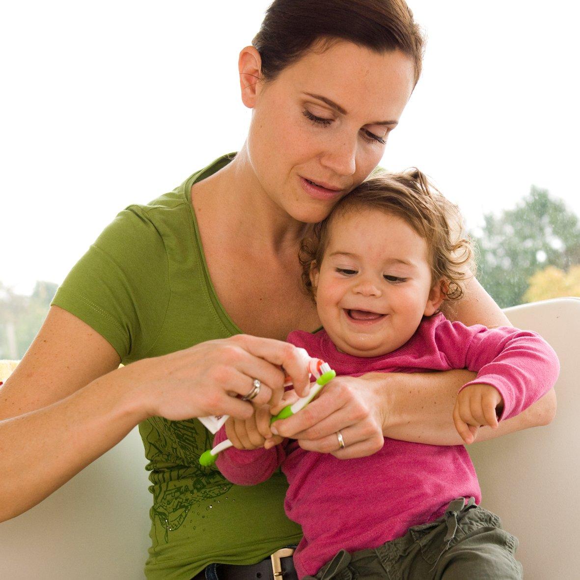 Zahnpflege Set MAM Oral Care Set f/ür Jungen