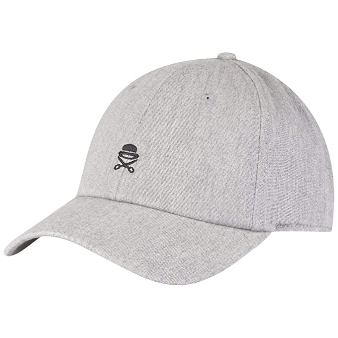 Cayler & Sons Gorras Small Icon Curved Heather Grey Adjustable