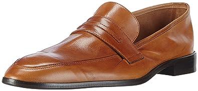 Hemsted & Sons Mens Loafer Brown 9 UK
