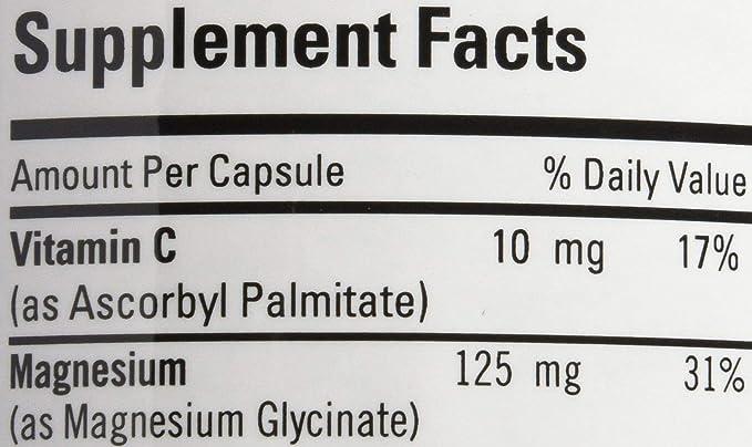 Glicinato de magnesio, 180 cápsulas - Mantenimiento metabólico: Amazon.es: Salud y cuidado personal