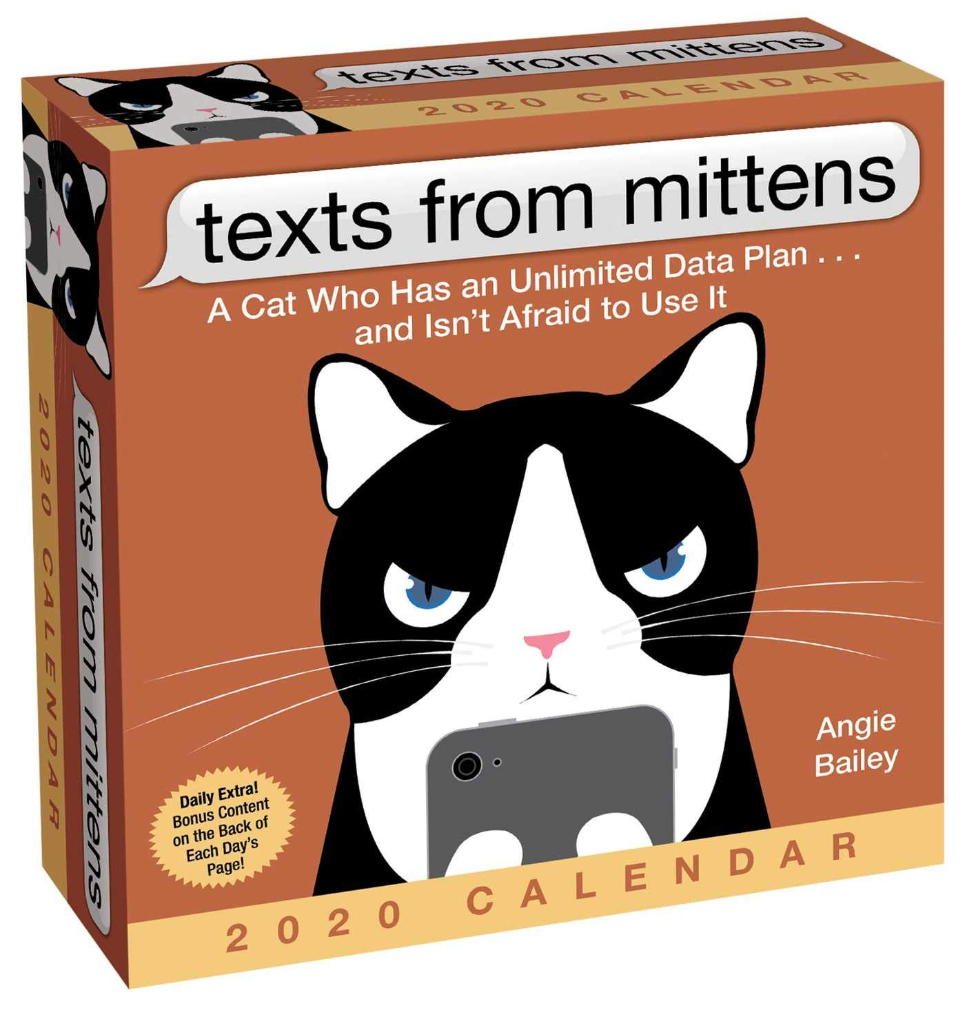Texts from Mittens 2020 Day-to-Day Calendar