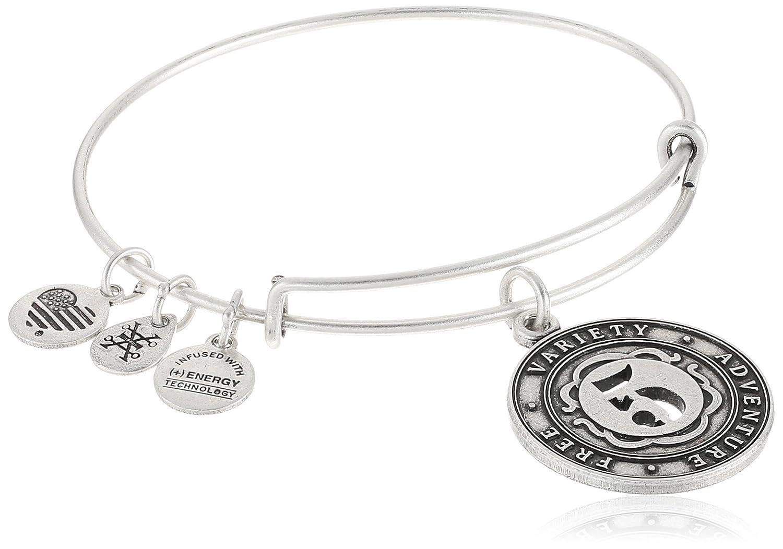 604f88d4b8558 Alex and Ani Numerology Number, Expandable Wire Bangle Charm Bracelet