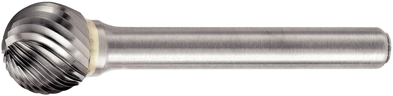 Round Nose Tree 0.125 Shank Diameter Carbide Right Hand Cut Single Cut Edge WIDIA Metal Removal Bur M40380 SF 0.125 Cutting Diameter