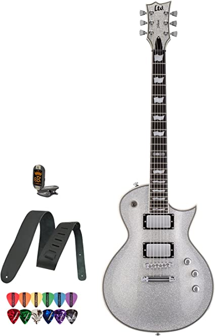 Esp jb-ltd-ec1000-ssp-kit-3 Pack de guitarra eléctrica, de ...