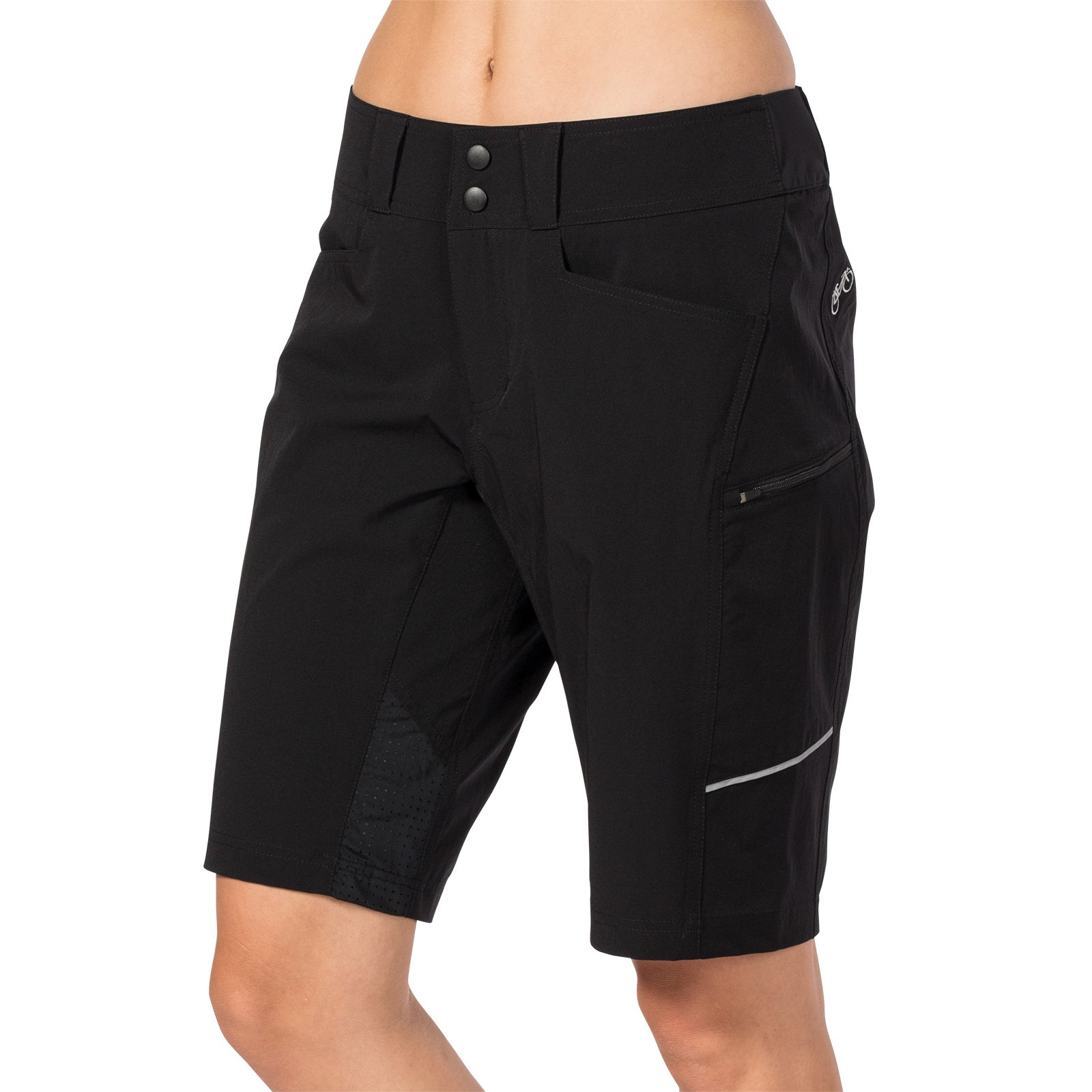 Terry Women's Metro Cycling Short Relaxed - Completely Restyled for 2018 - Black - Small