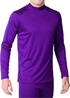 product image for WSI Microtech Form Fit Long Sleeve Shirt, Purple, Youth Medium
