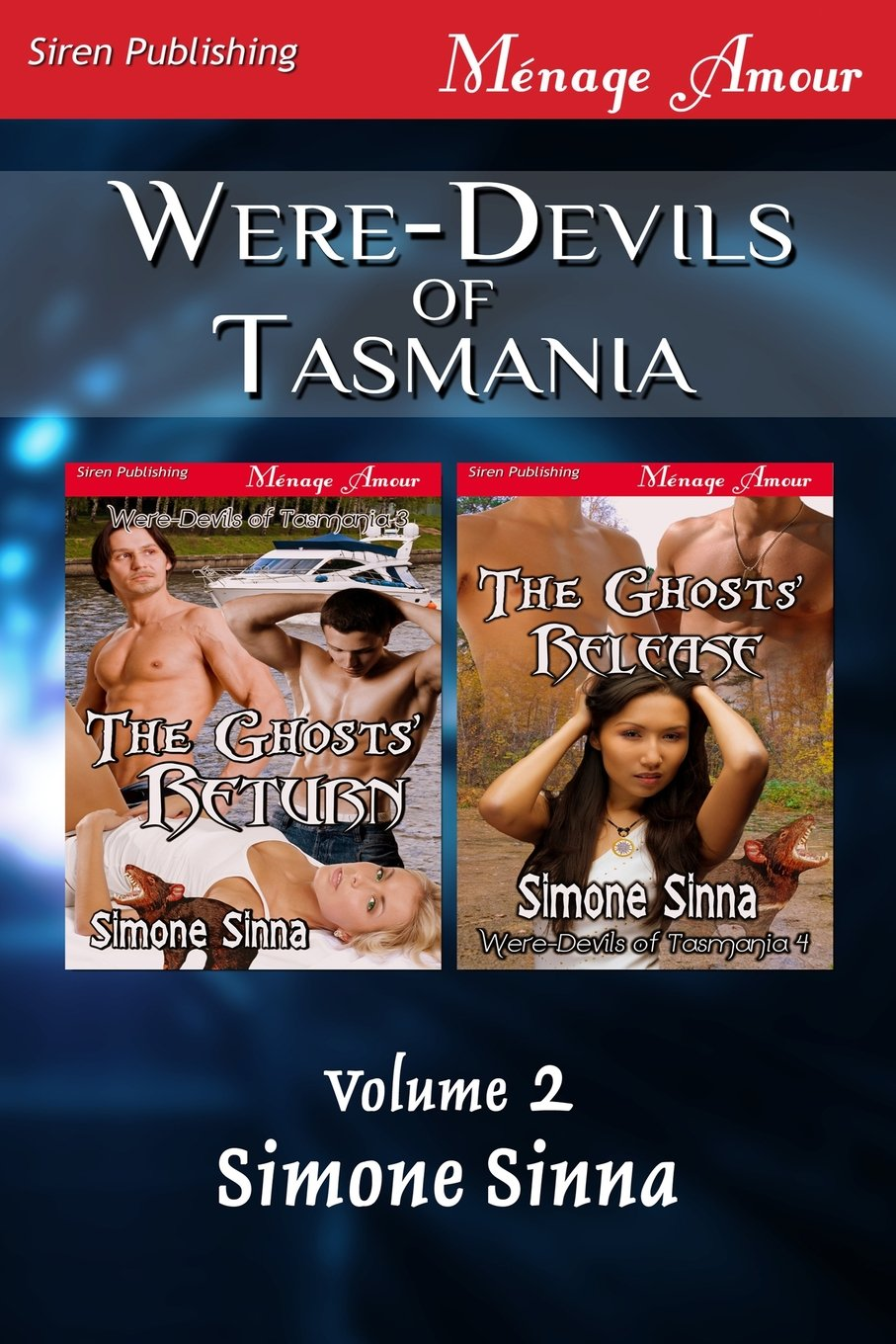 Were-Devils of Tasmania, Volume 2 [The Ghosts' Return: The Ghosts' Release] (Siren Publishing Menage Amour) pdf