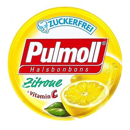 pulmoll TOS Caramelos Limón + vitaminas C ZF.