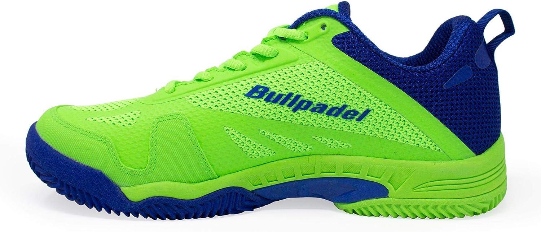Zapatillas Bullpadel Bexer Verde/Azul Real