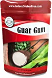 Judee's Guar Gum Powder Gluten Free (10 Oz)- USA Packaged & Filled - Great for Low-Carb, Keto, Ice Cream Recipes - Dedicated Gluten & Nut Free Facility