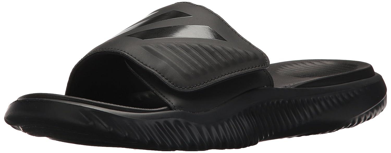 adidas Originals Men's Alphabounce Slide Sport Sandal B073PD2HDN 7 D(M) US|Black/Black/Black